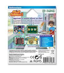 jeux chef de cuisine leapfrog 81583 apprendre à lire et à écrire jeu leappad