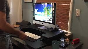 Varidesk Standing Desk Floor Mat by Varidesk Excellent Adjustable Standing Desk Youtube