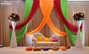 Sani Mar Decor Pakistani Wedding Decorations Muslim Stage Sanimar