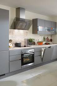schickes mattes grau nobilia küchen wohnung küche küche