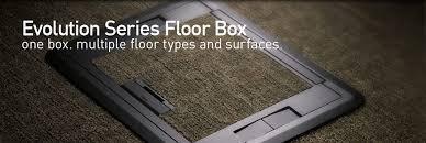 Legrand Floor Boxes Rfb4 by Wiremold Floor Box Rfb4 17 Images Floorport Series Blank