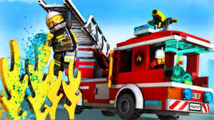 LEGO City My City 2 - Fire Truck And Fire Helicopter | Fun Kids Lego ...