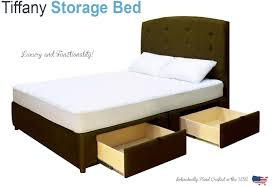 King Storage Platform Bed with underneath Drawers Sale Quality