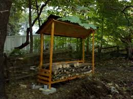 Free Plans For Building A Wood Storage Shed by Ana White Firewood Shed Diy Projects