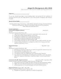 Wound Care Nurse Resume Pediatric Nurse Resume Home Care Nurse