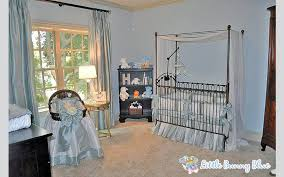 love the way our bratt decor iron crib and chelsea bookcase looks