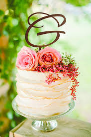 The 32 best Monogram Wedding Cake Topper images on Pinterest