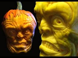 Scariest Pumpkin Carving by Hellishly Scary Extreme Pumpkin Carving Youtube