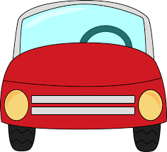 Boy Driving A Car Clip Art