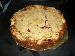 mascarpone kuchen mit roter grütze und streuseln einfach