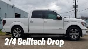 100 Drop Kits For Trucks D F150 24 Belltech Kit Installation 2wd 4x4 20092018