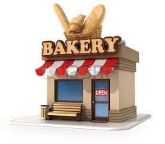 bakery 3d illustration Stock
