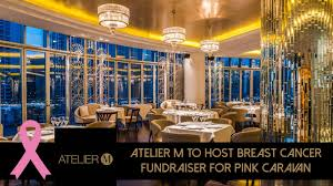 100 Atelier M To Host Breast Cancer Fundraiser For Pink Caravan