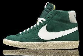 Nike Blazer High Premium Retro Gorge Green