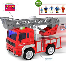 Amazon.com: FUNERICA Toy Fire Truck With Lights And Sounds ... Childrens Large Functional Trailer Set With Sound And Light Moving Toy Review 2015 Hess Fire Truck And Ladder Rescue Words On The Word With Head Sensor Kids Toys Car Model Buy Double Large Toy Fire Truck Firetruck Ladder Alloy 9 Fantastic Trucks For Junior Firefighters Flaming Fun Awesome Vintage 1950s Tonka Engine Tfd Big Children Playhouse Popup Play Tent Boysgirls Indoor Matchbox Giant Ride On Youtube Usd 10129 Remote Control News Iveco 150e Magirus Trucklorry 150 Bburago Amazoncom Memtes Electric Lights Sirens