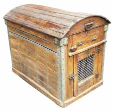 Rare Victorian Antique Pet Travel Crate
