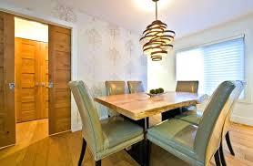 Mason Jar Dining Room Light Rustic Modern Lighting Dinning Fixtures Wood Amusing Height