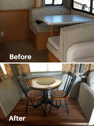 Table And Chairs To Replace Dining Booth In RV