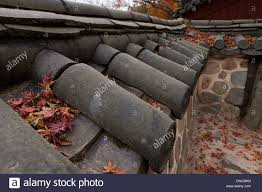 giwa fired clay roof tiles used on traditional hanok style