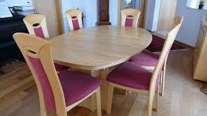 esszimmer tisch 6 stühle erle massiv kaufen auf ricardo