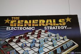 Generals Electronic Strategy Game Ideal 1980