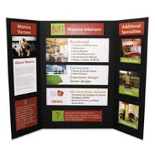This Sturdy Foam Display Board Helps Add Professional Polish To Your Work It Folds For Easy Storage And Features