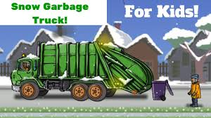 Garbage Truck Videos For Children: Garbage Truck In The Snow ... Garbage Truck Videos For Children Cartoon Real L Off Road Dump Trucks For Kids Service Vehicles Garbage Truck Videos Kids Children Toddlers Truck Garbage Trucks 55 Minutes Playing With Toys Bruder Mack Vs Btat Driven Pick Up In Trashville George The City Heroes Rch Singularity Well Still Be Using Same Tonka Fun Hero