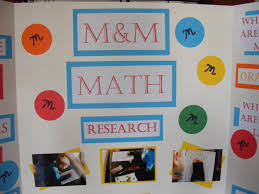 Easy MM Math Science Fair Project