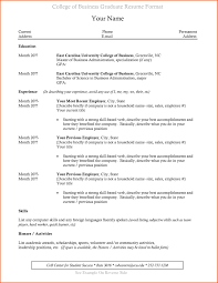 College Grad Resume Templates Unique Recent Graduate Sample New Of