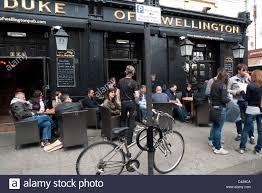 Joe Strummer Mural Notting Hill by The Duke Of Wellington Pub London Stock Photos U0026 The Duke Of