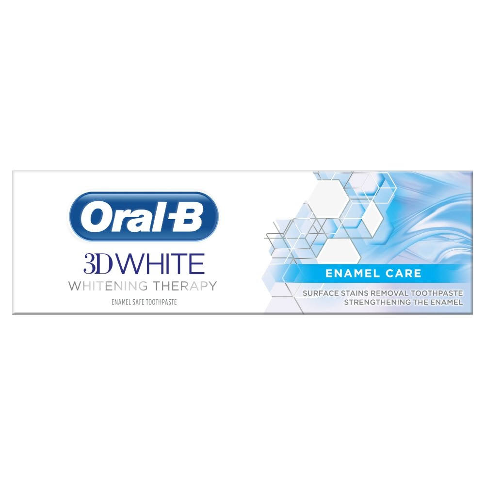 Oral-B 3D White Whitening Therapy Toothpaste - 75ml