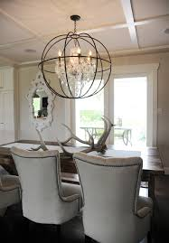 rustic chic rancher contemporary dining room vancouver by