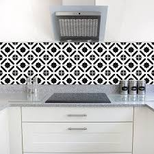 White Kitchen Tiles Ideas Funlife Waterproof Tile Wall Sticker Modern Design Black And White Self Adhesive Home Stickers For Kitchen Bathroom Tile Decor