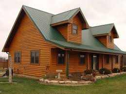 Staining and Finishing Your Log Home Log Medics Inc