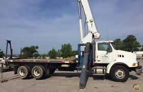 100 Service Truck With Crane For Sale Manitex 30102C 30Ton Boom S Material