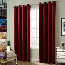 Burgundy Grommet Blackout Curtains by Solid Antique Bronze Grommet Polyester Drapes Burgundy Blackout