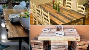 16 Awesome DIY Dining Table Ideas 30 Plus Impressive Pallet Wood Fniture Designs And Ideas Fancy Natural Stylish Ding Table 50 Wonderful And Tutorials Decor Inspiring Room Looks Elegant With Marvellous Design Building Outdoor For Cover 8 Amazing Diy Projects To Repurpose Pallets Doing Work 22 Exotic Liveedge Tables You Must See Elonahecom A 10step Tutorial Hundreds Of Desk 1001 Repurposing Wooden Cheap Easy Made With Old Building Ideas