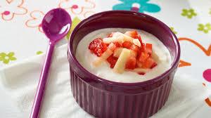 recette fromage blanc aux fraises et aux pommes recette dessert