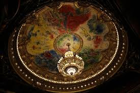 opéra garnier le fameux plafond de marc chagall picture