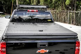 hard truck bed cover on silverado a black diamondback 270 flickr