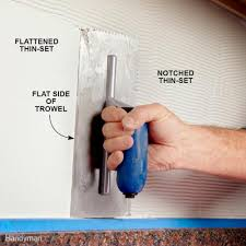 Thinset For Glass Mosaic Tile by Modern Tile Installation Tips Family Handyman