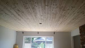 Popcorn Ceiling Scraper Menards by Back To Ceiling Planks Do It Your Self Covering Popcorn Ceiling