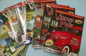 100 Vintage Truck Magazine 12 Issues Nice Cond Ford Chevy Dodge Jeep