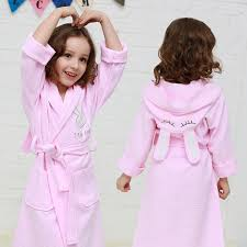 Cotton Childrens Cartoon Bathrobe Towel Material Boy Girl Swimming Baby Hooded Spring And Autumn Thickening