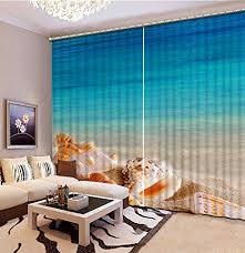 wapel custom 3d gardinen wohnzimmer meer wasser strand