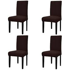 Best Rated In Dining Chair Slipcovers & Helpful Customer Reviews ... Leanking Knit Spandex Fabric Stretch Removable Washable Ding Room Chair Slipcover Home Decor Set Of 4 Grey Leaf Pcs Turquoize Slipcovers Jacquard Kitchen Parson Protector Cover Seat For Hotelding Using Chalk Paint To Your Couch Or Wing Back Vinyl Covers Plastic For Chairs Parsons Best Rated In Helpful Customer Reviews Argstar Pack Beige Deconovo Modern 2 How To Sew A The Ikea Henriksdal Bar Scarce Amazon Com Xflyee Redoubtable With Arms Magnificent