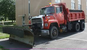 100 Plow Trucks For Sale 1989 D L8000 Dump Truck With Snow Plow Item A2134 SOL