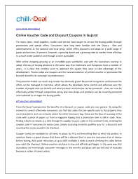 Calaméo - Online Voucher Code And Discount Coupons In Gujarat