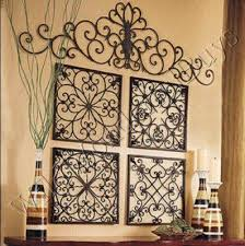 Square Wrought Iron Wall Grille Decor Medallions More
