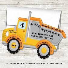 Amazon.com: Dump Truck Construction Birthday Party Invitations ... Dump Truck Special 800month Er Equipment Dump Trucks For Sale In Ok Hydraulic Cylinder Used For New 2018 Ford F550 In Colorado Springs Co 2019 F650 F750 Medium Duty Work Fordca Sale Kenworth Single Axle Trucks In Oklahoma On Buyllsearch Western Star 4700sf Video Walk Around At Mack By Peters Keatts Inc 2 Listings Ninco Heavy Rc 8428064100351 Ebay